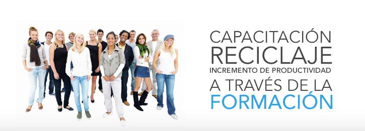 Capacitación, reciclaje e incremento de la productividad a través de la formación